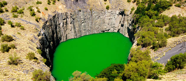 Kimberley And The Diamond Field Region - South Africa